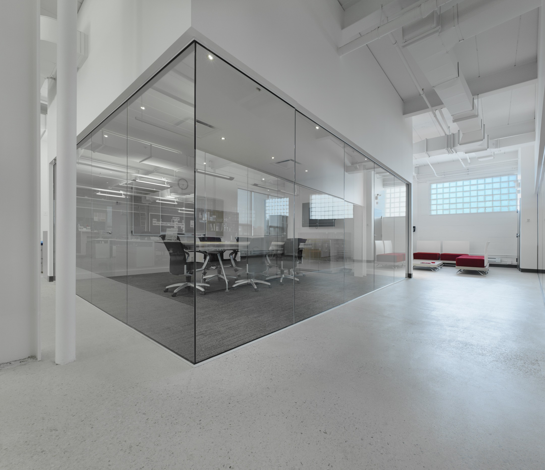 Offices Of Mosaic Design Larose Mccallum Architectes
